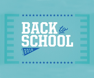 Gear Up For Back to School!