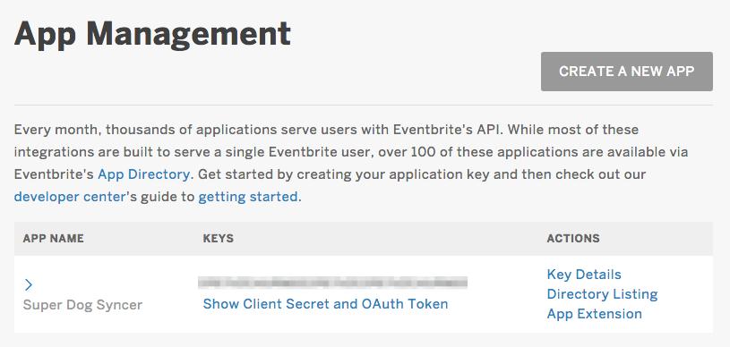 How to integrate with the Eventbrite API   Eventbrite Help