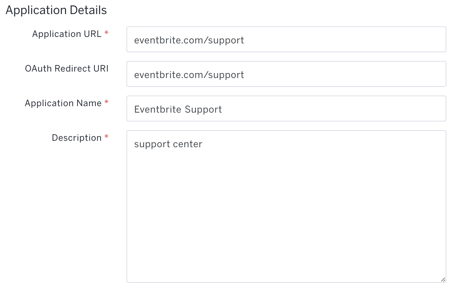 Troubleshooting issues with your redirect URI | Eventbrite Help Centre