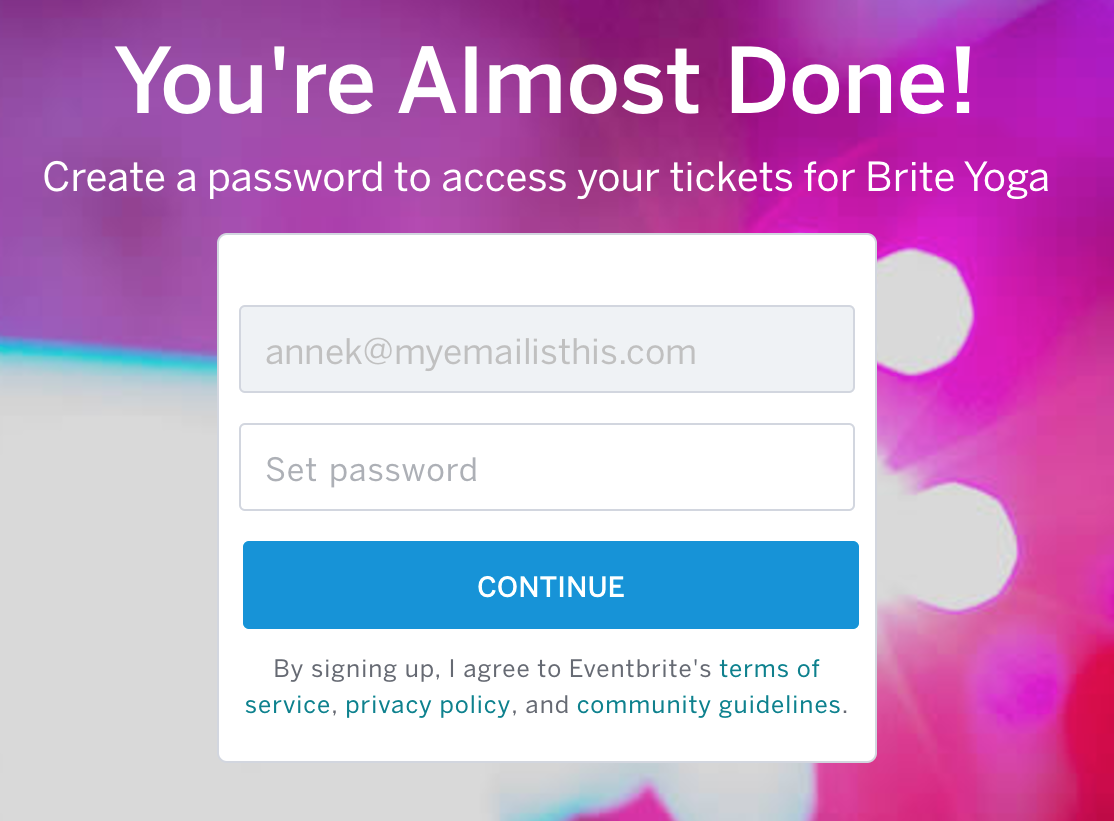 How to claim tickets registered on your behalf | Eventbrite