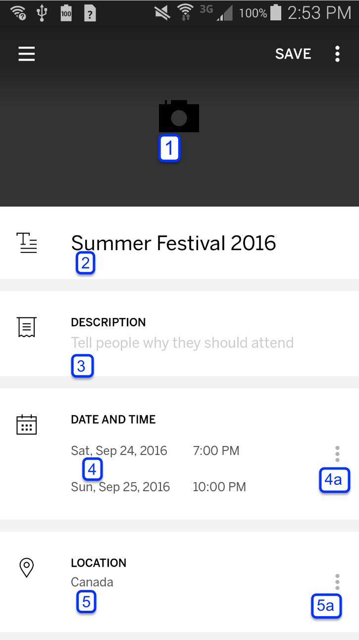 how to create an event on eventbrite
