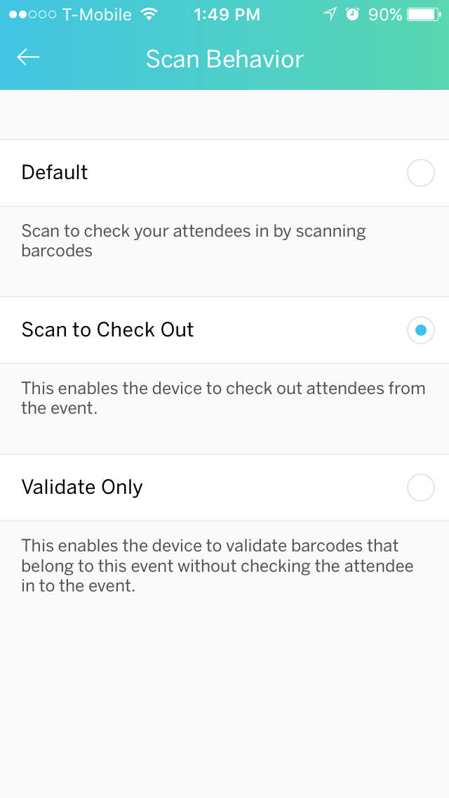 how to check in attendees at the event with eventbrite organizer