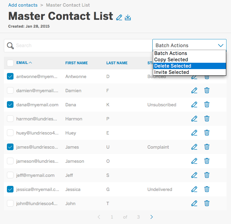 How to clean your contact lists | Eventbrite Support