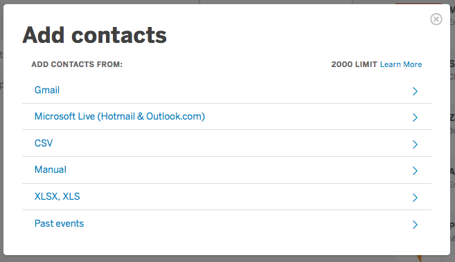 How to create (and import) contact lists | Eventbrite Help Center