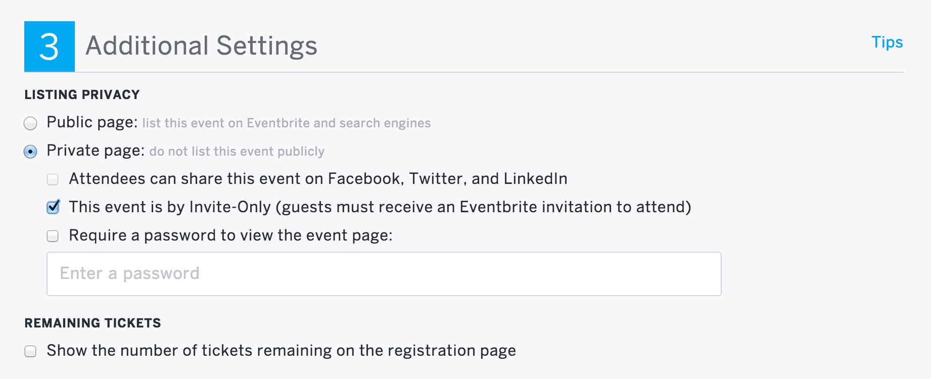 How To Set Up Invitation Only Events Eventbrite Help Center