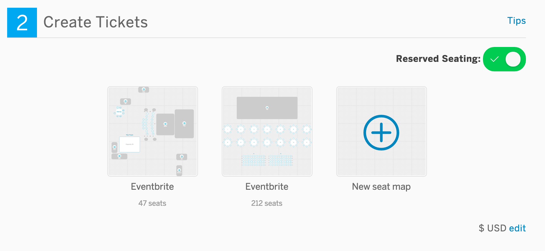 how to set up a reserved seating event eventbrite support if you enter location information and there are existing seat maps for the venue we ll show you those options and you can start from one that works