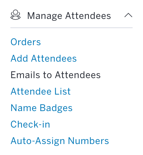How to email your attendees through Eventbrite | Eventbrite Help Center