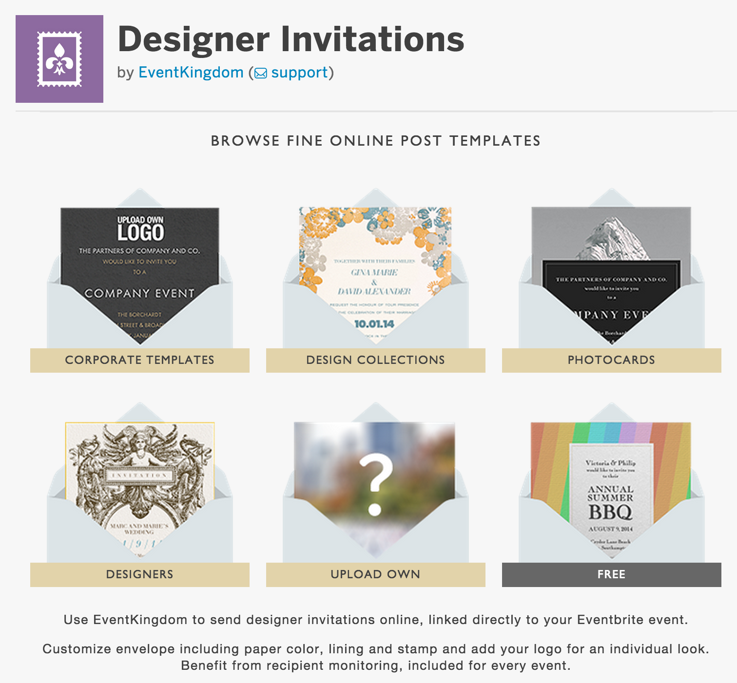 How to create designer email invitations with our EventKingdom – Free Event Invitation Templates