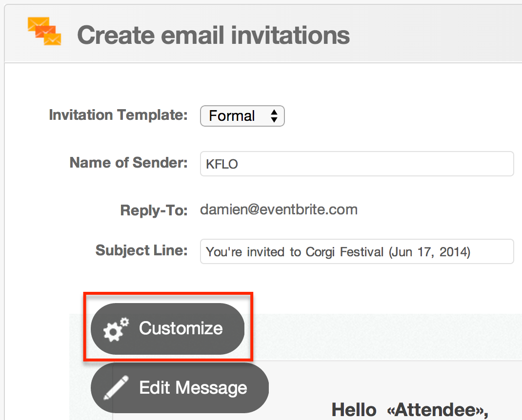 How To Use Rsvp Tracking Eventbrite Help Center