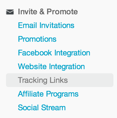 How to create promotional tracking links   Eventbrite Help Center