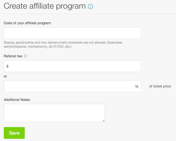 how to increase ticket sales with an affiliate programme