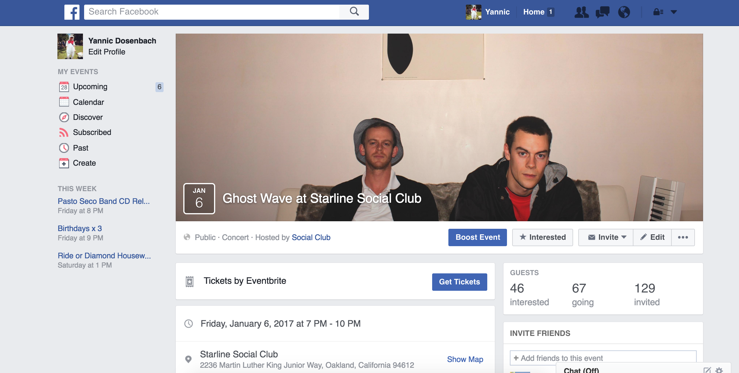 How to add your Eventbrite event to Facebook and boost