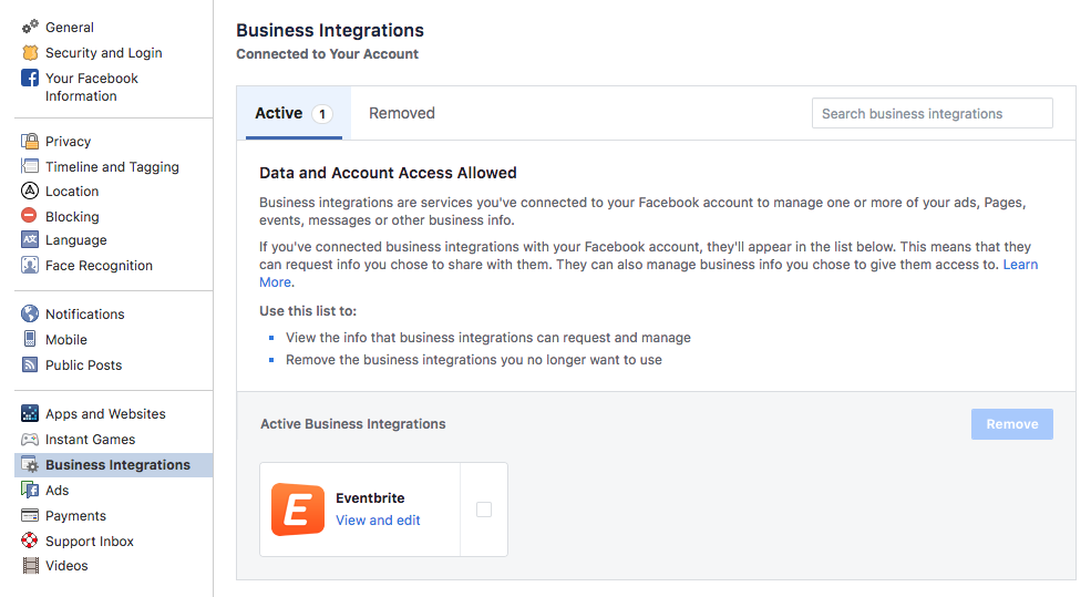 Troubleshooting Eventbrite's Facebook feature | Eventbrite Help Center