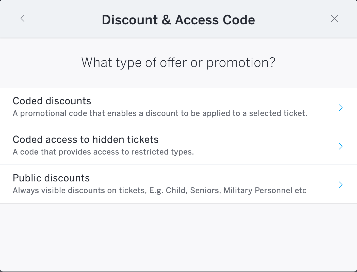 Creating a coupon code i will now explain the setup step by step - Select Public Discounts