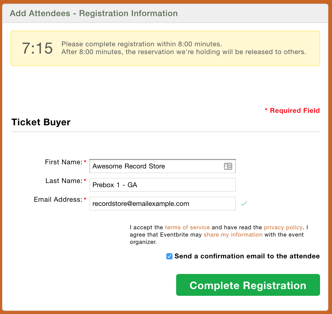 how to create and print a prebox order eventbrite help center