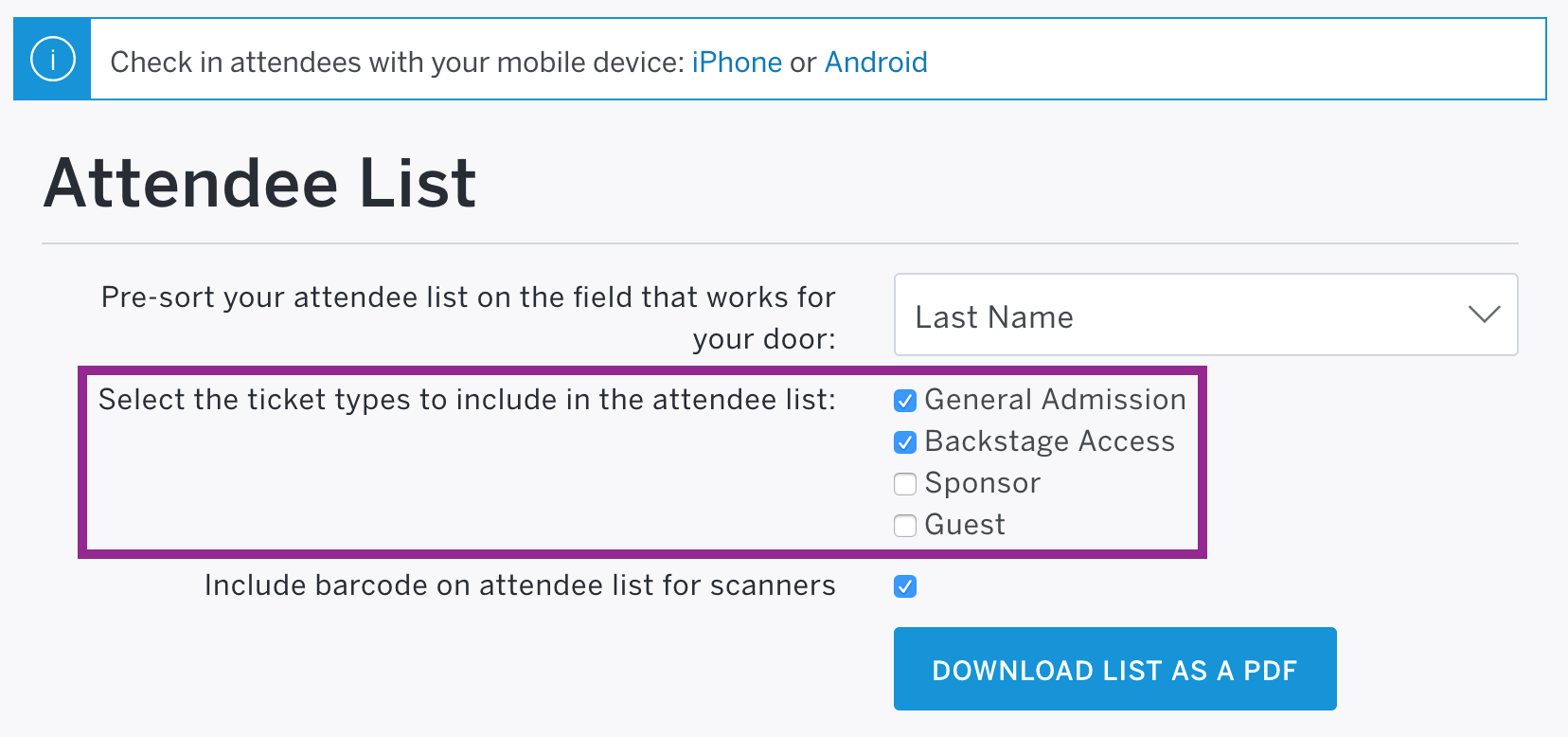 how to cancel ticket in eventbrite