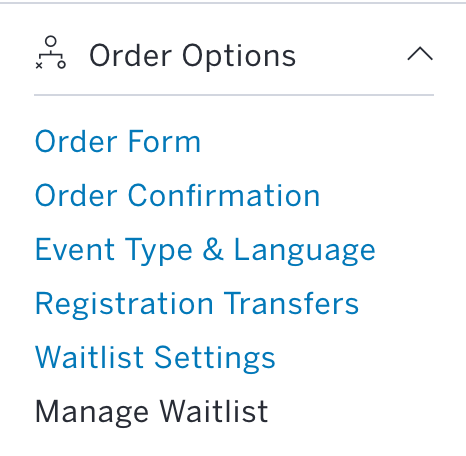 How to set up an event waitlist Eventbrite Help Centre