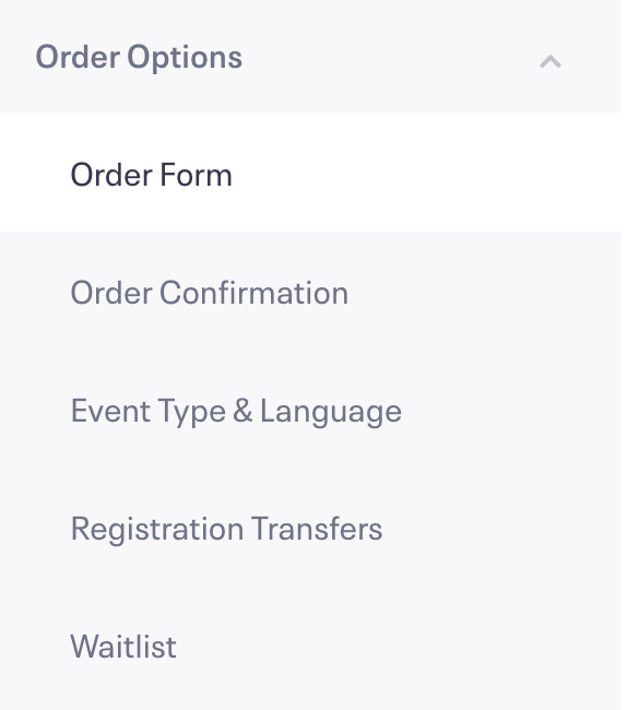 how to increase or decrease the amount of time to complete an order