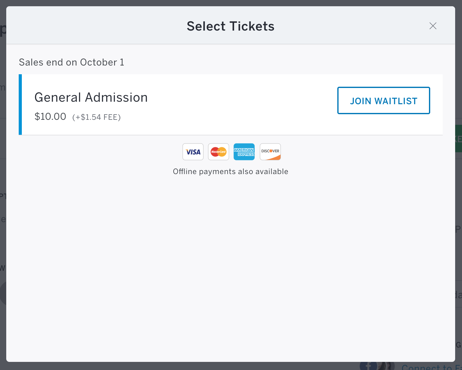 how to set up an eventbrite account