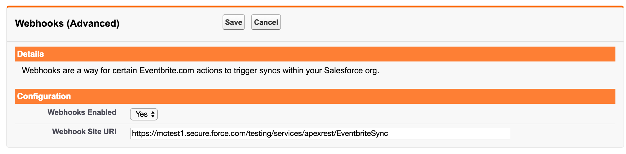 Last Sync Date is located under the Start Sync button.