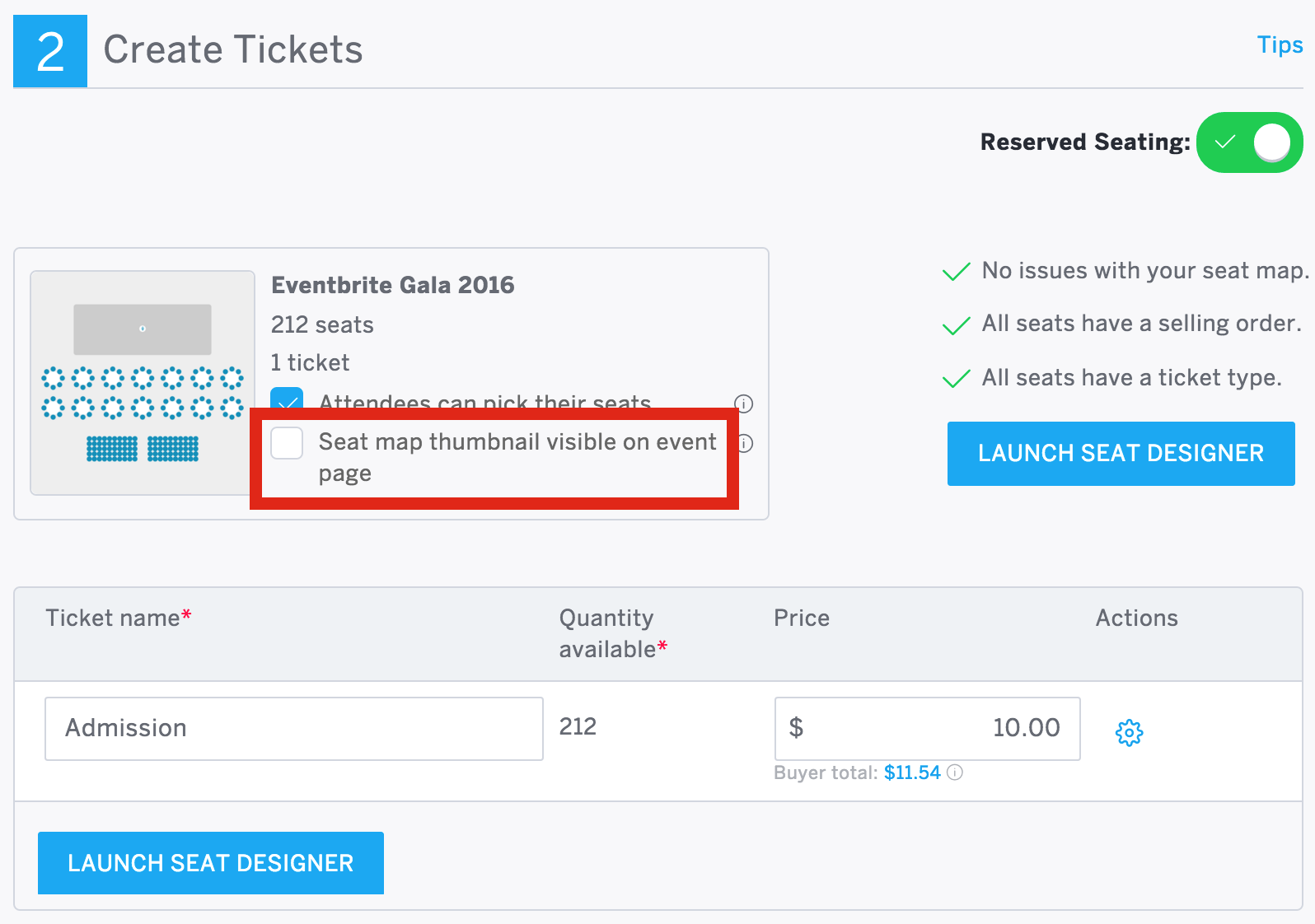 Organizing A Reserved Seating Event You Can Use The New Event Listings Design As Long As Your Venue Map Isn T Displayed On The Page