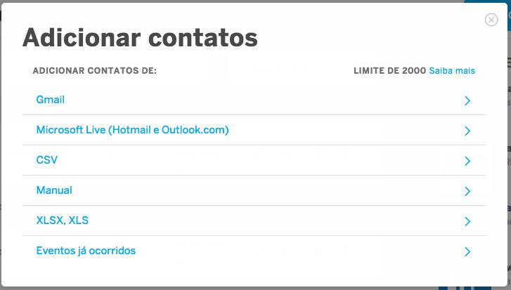 Como criar (e importar) listas de contatos | Central de